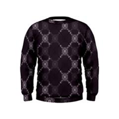Abstract Seamless Pattern Kids  Sweatshirt
