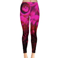 Abstract Bubble Background Leggings  by Jojostore