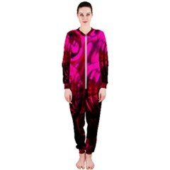 Abstract Bubble Background Onepiece Jumpsuit (ladies)  by Jojostore