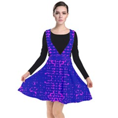 Blue And Pink Pixel Pattern Other Dresses by Jojostore