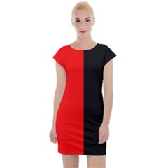 Colour Blocking Cap Sleeve Bodycon Dress by chihuahuadresses