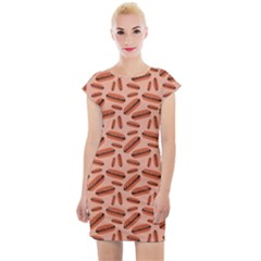 Hotdogs Cap Sleeve Bodycon Dress by chihuahuadresses