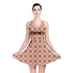 Qt Pie Polka Dot Pattern Reversible Skater Dress by emilyzragz