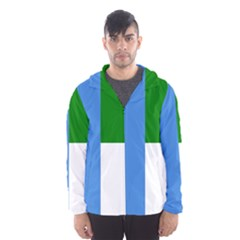 Flag Of West Puntland Hooded Windbreaker (men) by abbeyz71