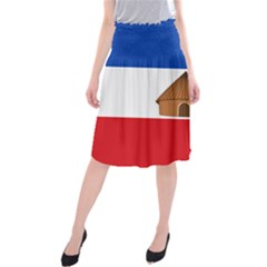 Flag Of Southern Nations, Nationalities, And Peoples  Region Of Ethiopia Midi Beach Skirt by abbeyz71