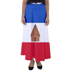 Flag Of Southern Nations, Nationalities, And Peoples  Region Of Ethiopia Flared Maxi Skirt by abbeyz71