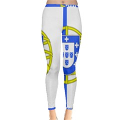 Proposed Flag Of Portugalicia Inside Out Leggings by abbeyz71