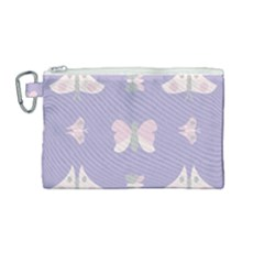 Butterfly Butterflies Merry Girls Canvas Cosmetic Bag (medium) by Sapixe