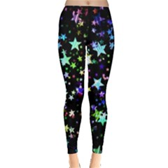 Christmas Star Gloss Lights Light Leggings