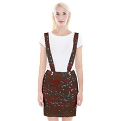 Background Christmas Decoration Braces Suspender Skirt by Sapixe