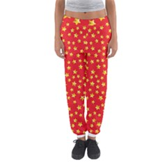 Pattern Stars Multi Color Women s Jogger Sweatpants