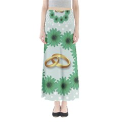 Rings Heart Love Wedding Before Full Length Maxi Skirt by Sapixe