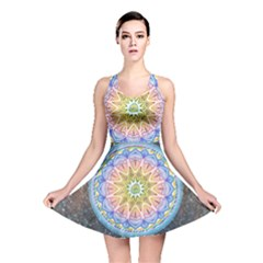 Mandala Cosmos Spirit Reversible Skater Dress