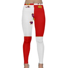 Flag Of Castile & León Classic Yoga Leggings by abbeyz71