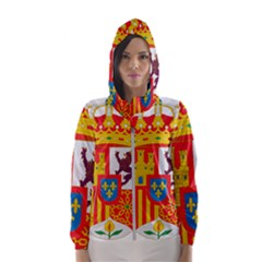 Coat Of Arms Of Spain Hooded Windbreaker (women) by abbeyz71