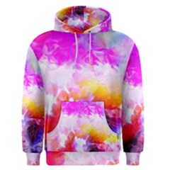 Background Drips Fluid Colorful Men s Pullover Hoodie by Sapixe