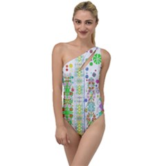 Sonata Emerald To One Side Swimsuit by Tiffied