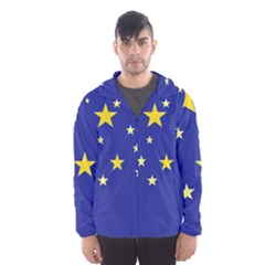 Digitalstars Hooded Windbreaker (men) by lwdstudio