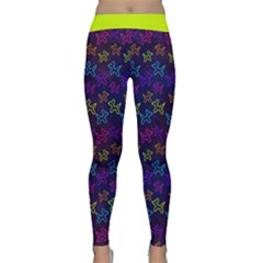 Neon Dogs Classic Yoga Leggings by TwisterSister