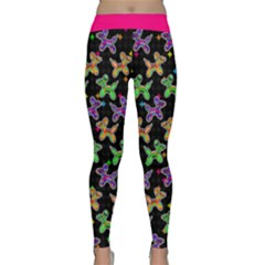 Sugar Skull Dogs Classic Yoga Leggings by TwisterSister