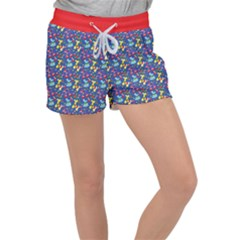 Merry Balloon Animals Women s Velour Lounge Shorts by TwisterSister