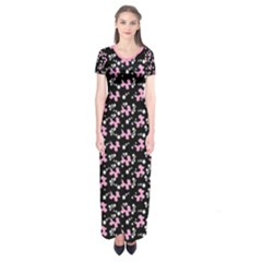 Dogs & Stars Short Sleeve Maxi Dress by TwisterSister