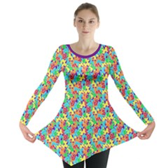 Jam Room Floor Long Sleeve Tunic  by TwisterSister