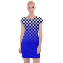 Harajuku Colour Blocking Cap Sleeve Bodycon Dress by chihuahuadresses