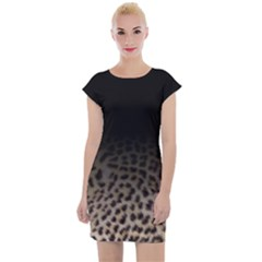 Ombre Leopard Print Animal Print Cap Sleeve Bodycon Dress by chihuahuadresses