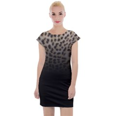 Ombre Leopard Print Animal Print Sleeve Bodycon Dress by chihuahuadresses