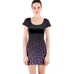 Ombre Leopard Print Animal Print Short Sleeve Bodycon Dress by chihuahuadresses