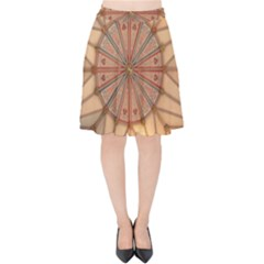York Minster Chapter House Velvet High Waist Skirt by Sapixe