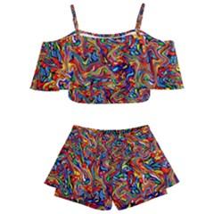 New Stuff 10 Kids  Off Shoulder Skirt Bikini by ArtworkByPatrick