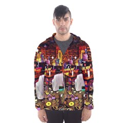 Painted House Hooded Windbreaker (men) by MRTACPANS