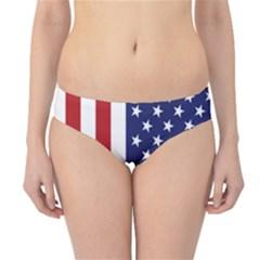 Us Flag Stars And Stripes Maga Hipster Bikini Bottoms by snek
