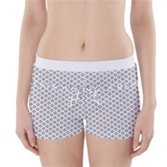 Logo Kek Pattern Black And White Kekistan White Background Boyleg Bikini Wrap Bottoms by snek
