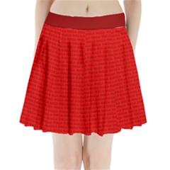 Maga Make America Great Again Usa Pattern Red Pleated Mini Skirt by snek