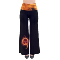 Qanon Letter Q Fire Effect Wwgowga Wwg1wga So Vintage Palazzo Pants by snek
