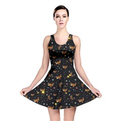 Phoenix Firebird Reversible Skater Dress by chihuahuadresses