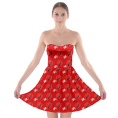 Cupid Strapless Bra Top Dress by chihuahuadresses