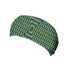 Kaleidoscope Art Unique Yoga Headband by AnjaniArt