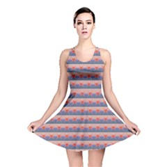 Sunset Fair Isle Reversible Skater Dress by chihuahuadresses