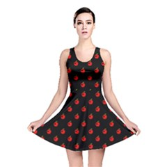 Love Apples Reversible Skater Dress by chihuahuadresses