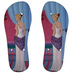 Palm Beach Perfume Art Collection Men s Flip Flops