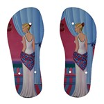 Palm Beach Perfume Art Collection Women s Flip Flops