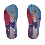 Palm Beach Perfume Art Collection Kid s Flip Flops