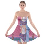 Palm Beach Perfume Art Collection Strapless Bra Top Dress