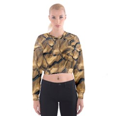 Mud Muddy Cropped Sweatshirt by Mariart