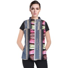 Laduree Macaron Paris Women s Puffer Vest by Bejoart