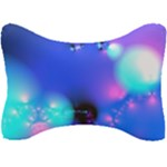 Love In Action, Pink, Purple, Blue Heartbeat Seat Head Rest Cushion